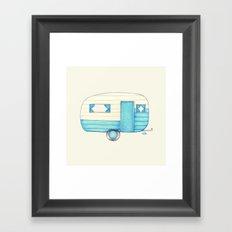 Caravan Palace Framed Art Print