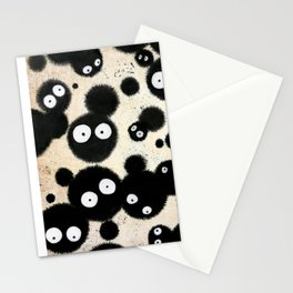 Cute Susuwatari Infestation Stationery Cards
