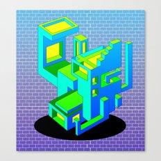 Cool Haus Canvas Print