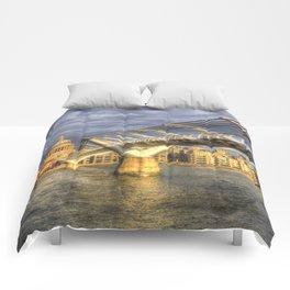 The Millennium Bridge Comforters