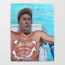 Billy Madison - Adam Sandler Painting Poster
