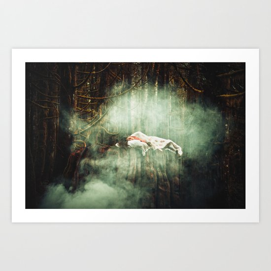 In Dreaming Art Print