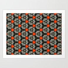 Breitner Pattern Art Print