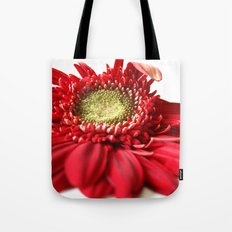 Red and White 2 Tote Bag