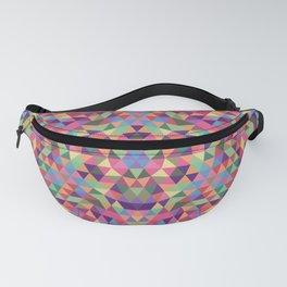 Colorful Triangle Mandala Fanny Pack