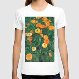 Marigolds by Koloman Moser, 1909 T-shirt