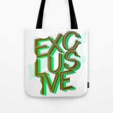 #exclusive Tote Bag