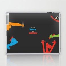 Make Musica Not Guernica Laptop & iPad Skin