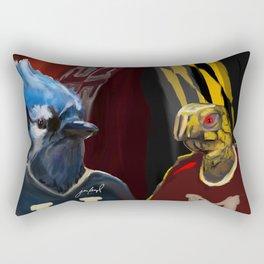 Lax Rivalry Rectangular Pillow