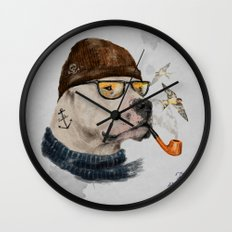 Mr.Mastiff Wall Clock