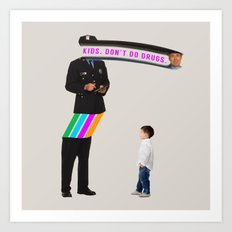 Kids. Don't Do Drugs Art Print