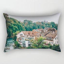 Treetops | Bern, Switzerland Rectangular Pillow