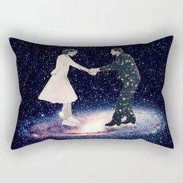 Skating in Andromeda Rectangular Pillow