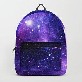 Purple Blue Galaxy Nebula Rucksack