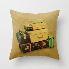 Time to Leave Throw Pillow