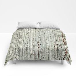 Crackled Wood rustic decor Comforters