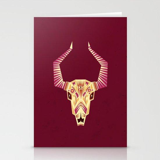Sugar Bull Stationery Cards