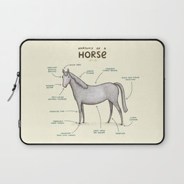 Anatomy of a Horse Laptop Sleeve