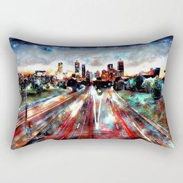 Atlanta Sunset Rectangular Pillow