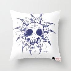 Salomonic skull  Throw Pillow