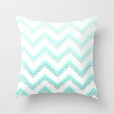 NUDE MINT  Throw Pillow
