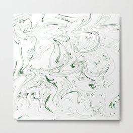 Skinny Green Metal Print