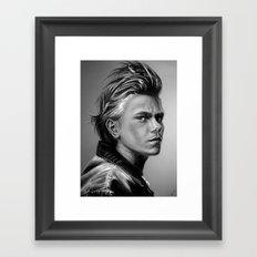 + The Wolf + Framed Art Print