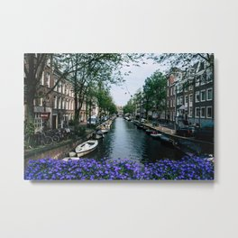 Charming Amsterdam Metal Print