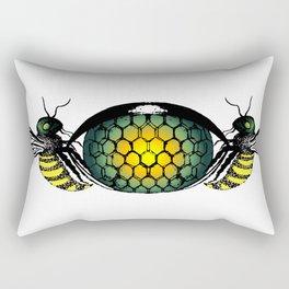 lamieldelojo . eye Rectangular Pillow