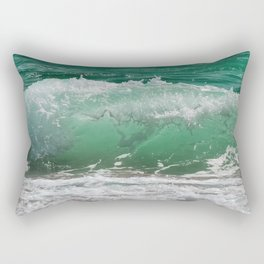 Sea Water Waves Rectangular Pillow