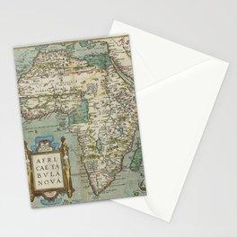 Vintage Map - Ortelius: Theatrum Orbis Terrarum (1606) - Africa Stationery Cards