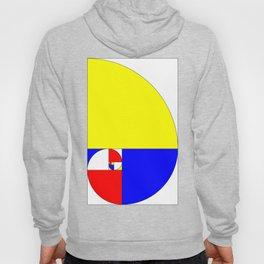 Mondrian in a Fibo-Style Hoody