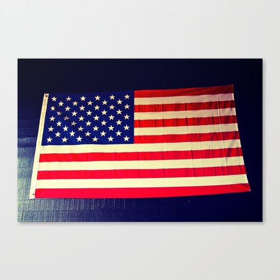 Wall flag Canvas Print