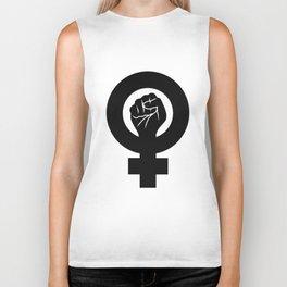 Feminist Symbol Biker Tank