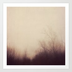 autumn atmosphere Art Print