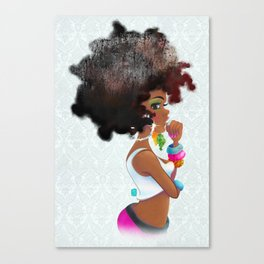 Baby Girl Canvas Print