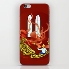How Dragons Keep Warm in Winter iPhone & iPod Skin