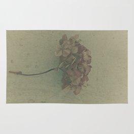 Faded Hydrangea Rug