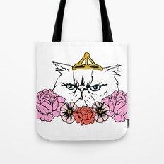 Queen Cat Tote Bag