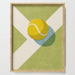 BALLS / Tennis (Grass Court) Serving Tray