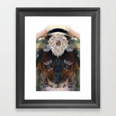Birth//Death//Rebirth Framed Art Print