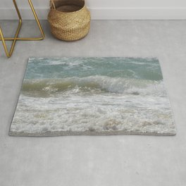 Loving the Waves number 5 Rug