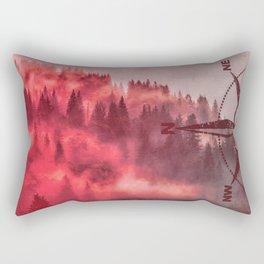 Fiery Direction  Rectangular Pillow