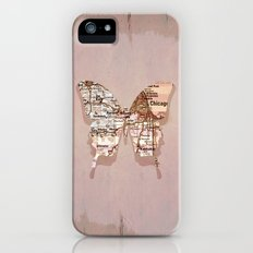 chicago butterfly Slim Case iPhone (5, 5s)