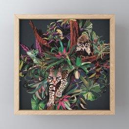Rainforest corner Framed Mini Art Print