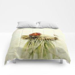 Dandelion Ladybugs Comforters