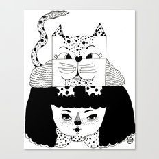 mew Canvas Print