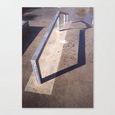 Ground steel Canvas Print