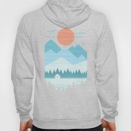 Cabin In The Snow Hoody