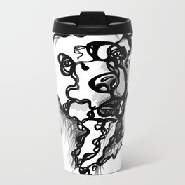 A bear Metal Travel Mug